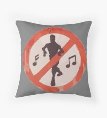 Dance Sign Throw Pillow