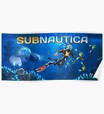 Póster cartel subnautica 3