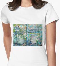 Vase and Demitasse Impressionist Painting T-Shirt