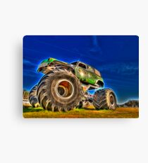 Power Wheel Canvas Print