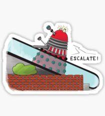 Why you can't take a Dalek shopping Sticker