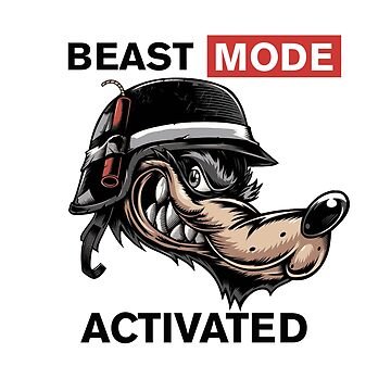 Beast Mode by Tina-Maria