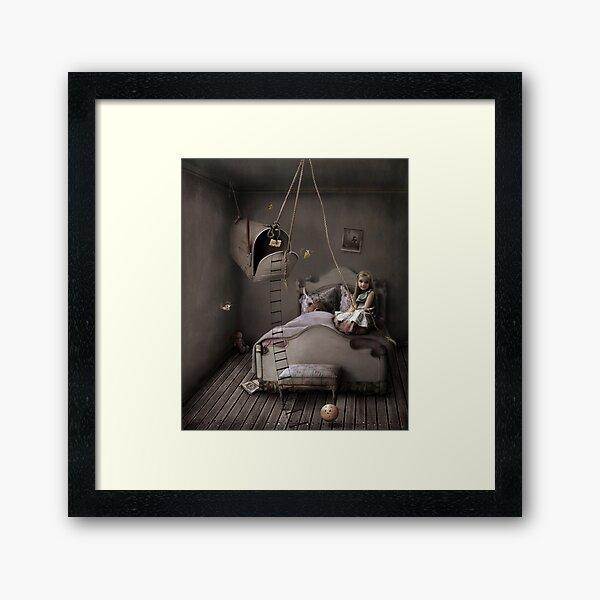Trap of fairy tales Framed Art Print
