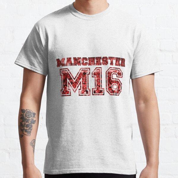 Manchester United Postcode Classic T-Shirt