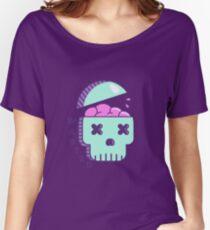 Popping Brain Skull Women's Relaxed Fit T-Shirt