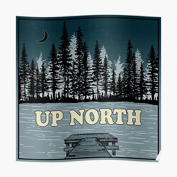 A Night Up North Poster
