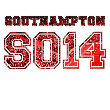 Southampton FC Postcode by thestash