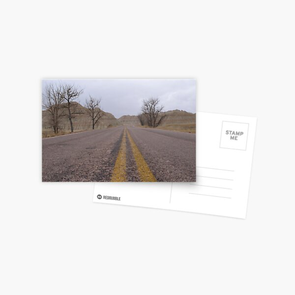Welcome to the Badlands Postcard