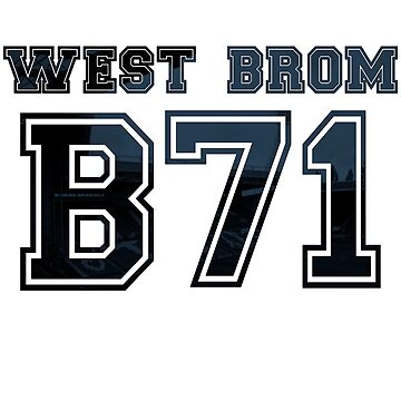 West Brom Postcode by thestash