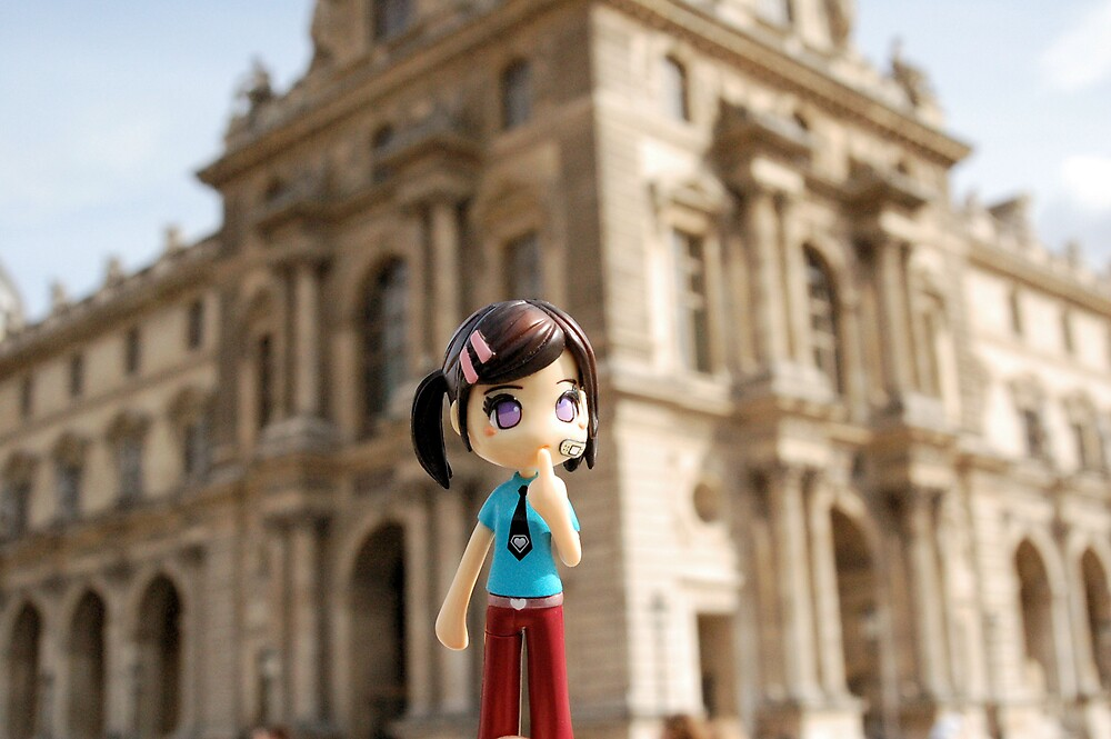 Cutie by the Louvre by bchai