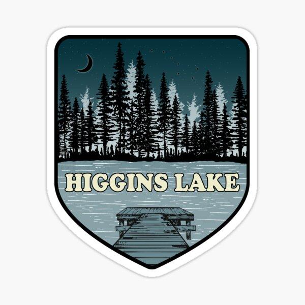 A Night on Higgins Lake Sticker