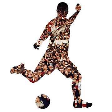 Footballer Silhouette by thestash