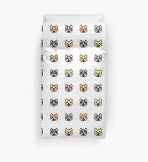 Pixel Dog Duvet Cover
