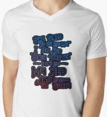Drake God's Plan Men's V-Neck T-Shirt