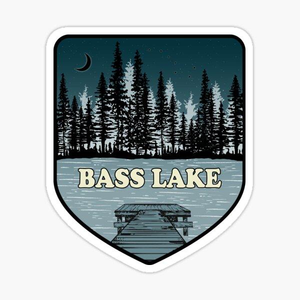 A Night on Bass Lake Sticker