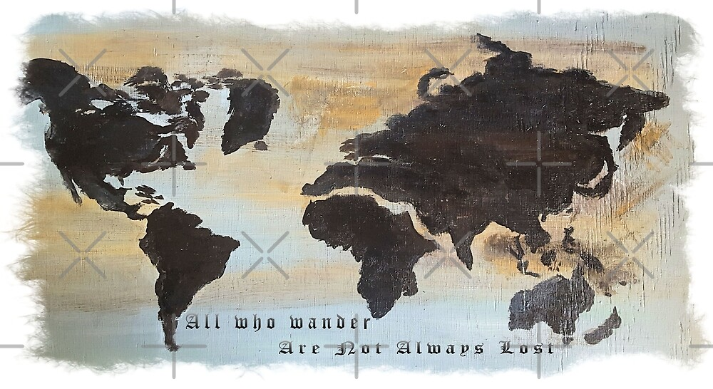 All Who Wander Are Not Always Lost by lahatfield