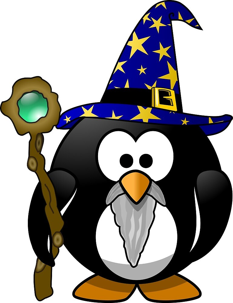 Penguin Wizard by AnUnseenGod