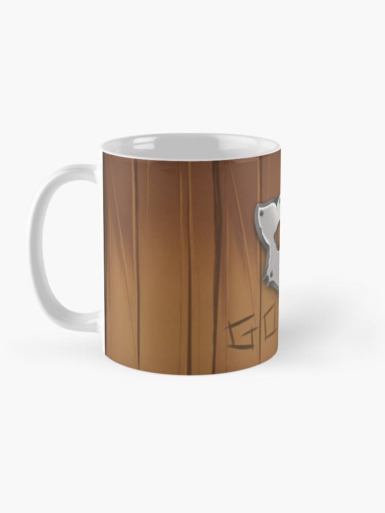 Alternate view of GoEaSyTwitch LogoWood Mug