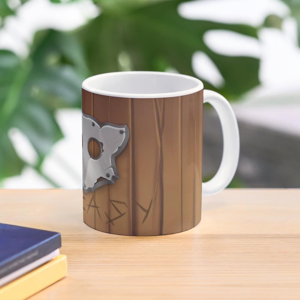 GoEaSyTwitch LogoWood Mug