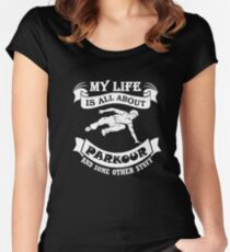 Parkour and Freerunning Women's Fitted Scoop T-Shirt