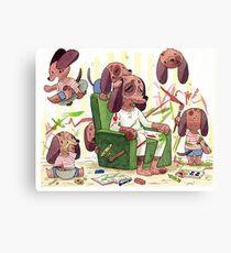 Doggy Daddy Canvas Print