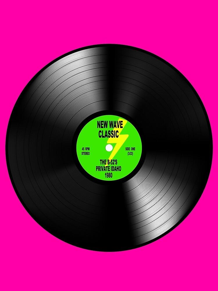 "New Wave Classic Vinyl Record ""PRIVATE IDAHO"" 1980 by IamRaym"