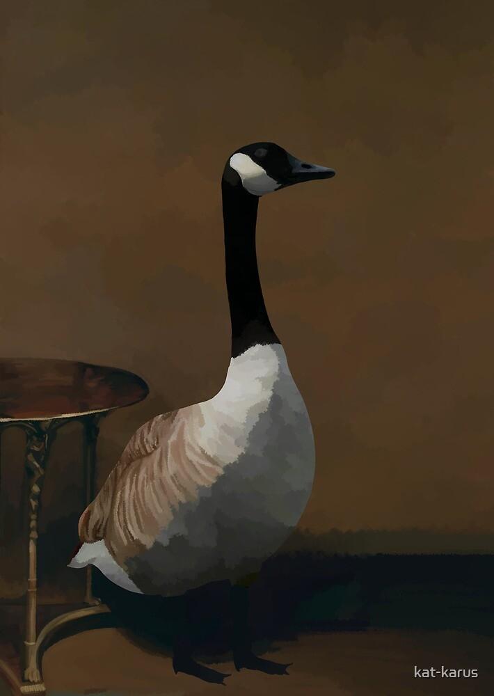 Portrait of Madame Goose by kat-karus