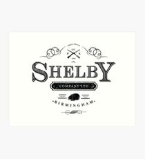Shelby Company Limited Art Print