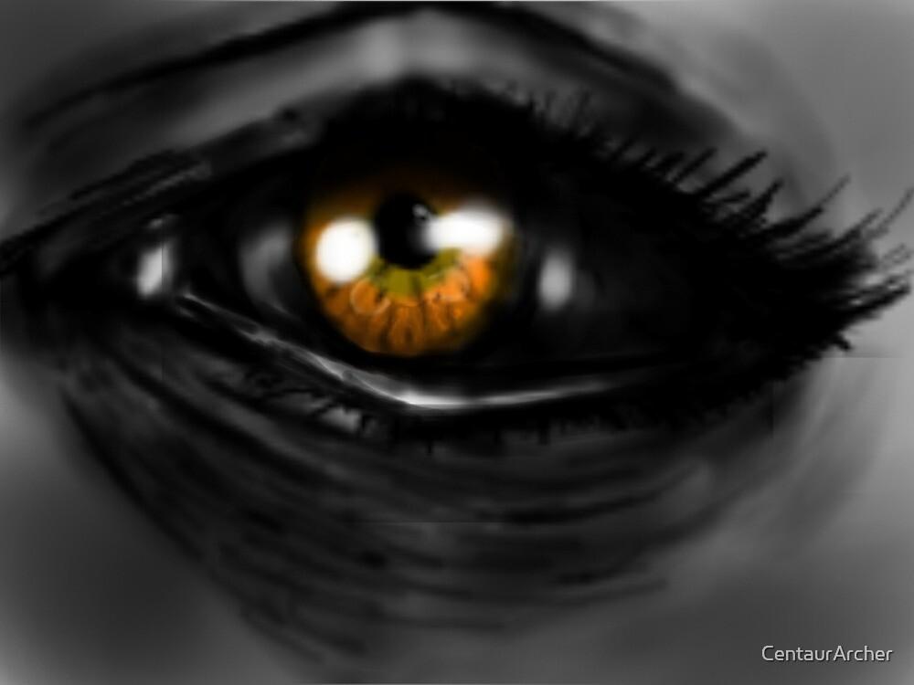 Sun color eyes by CentaurArcher