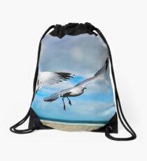 Garden City Gulls Drawstring Bag