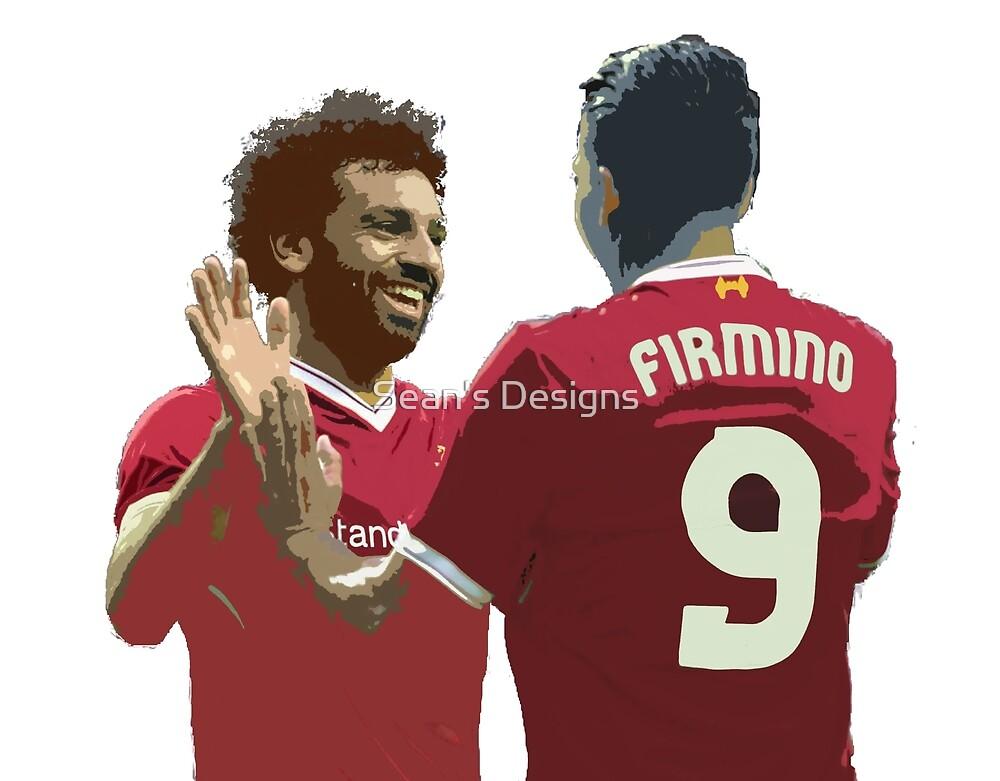 Salah & Firmino by Sean's Designs