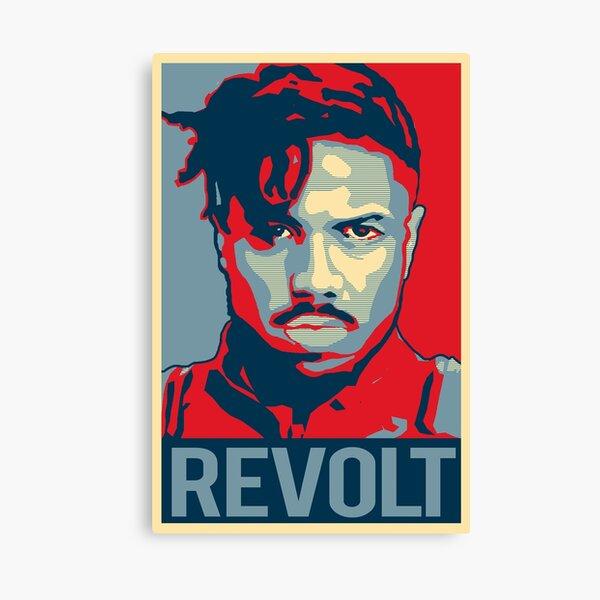 Killmonger - Revolt! Canvas Print