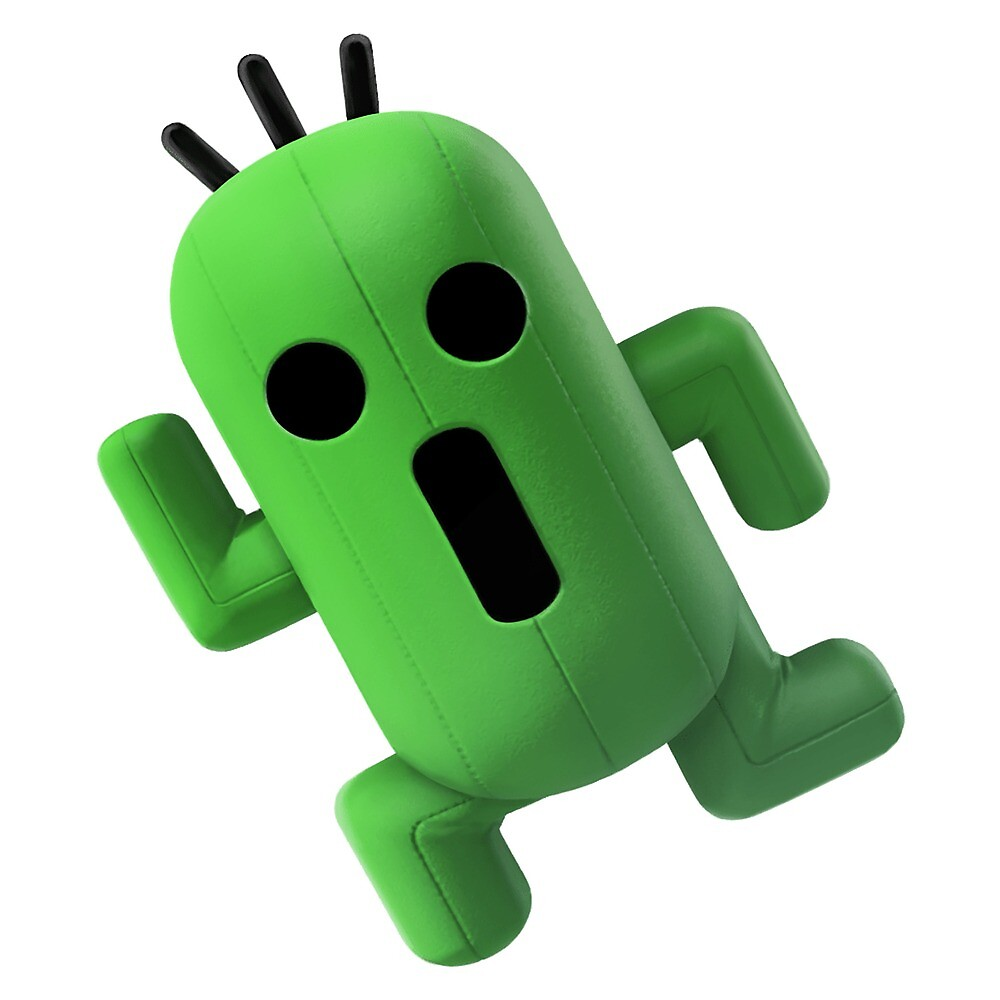 It's Cactuar! From the Final Fantasy Franchise by Onions :D