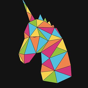 Unicorn Rainbow Colors by FairyTees