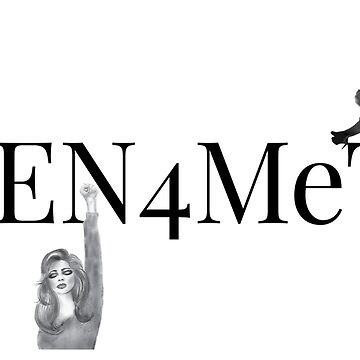 Men4MeToo White or Light Colored Tee by vernice2018