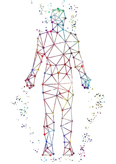 human body molecules dna molecule dna posters by rosaliartbook