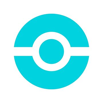 Pokeball Icon Teal by cluper