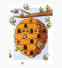 Hive Photographic Print