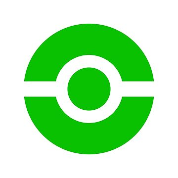 Pokeball Icon Green by cluper