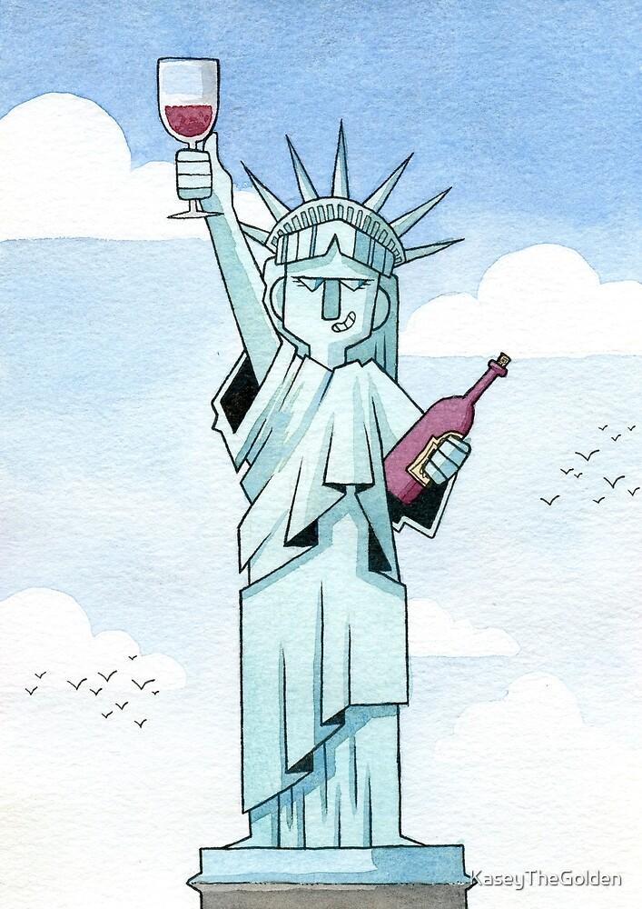 Lady Liberty Part 1 by KaseyTheGolden