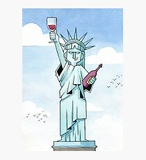 Lady Liberty Part 1 Photographic Print