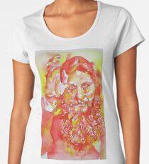 GRIGORI RASPUTIN - watercolor portrait.5 Women's Premium T-Shirt