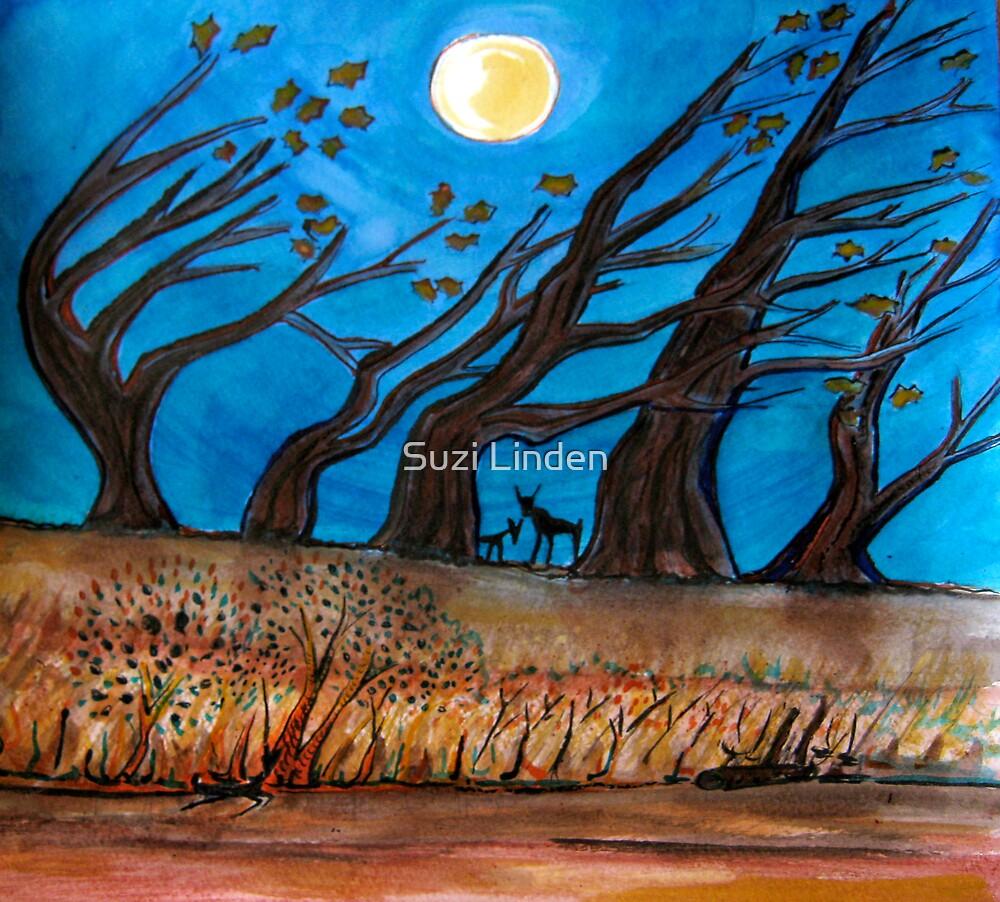 Night Woods by Suzi Linden