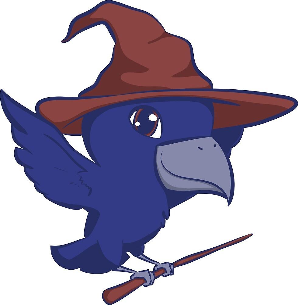 Raven Wizard by CreatedByFran