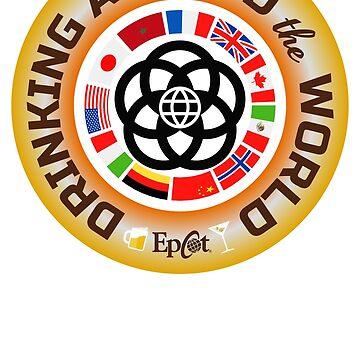 Drinking Around the World by Tiki-Tees