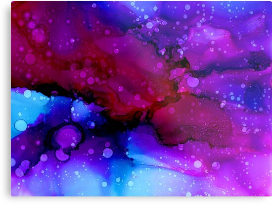 abstract galaxy by Sjartworks
