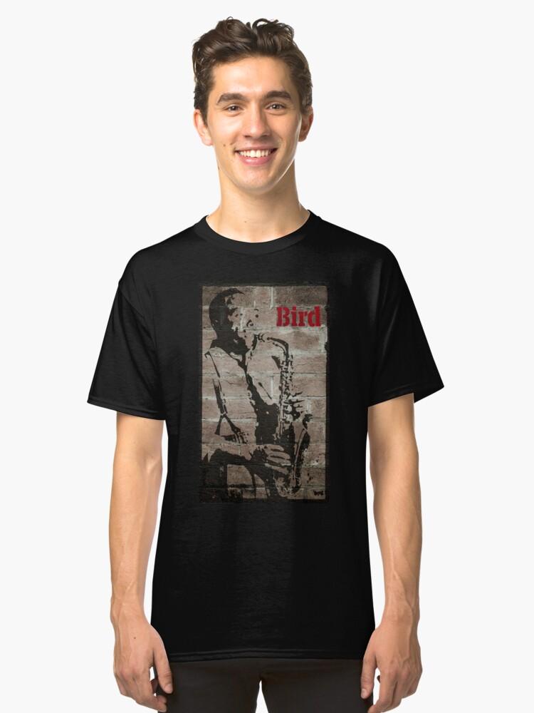 Graffiti art: Charlie Parker Classic T-Shirt Front