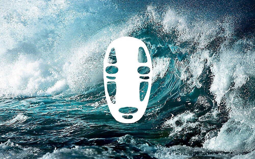 Wavey No Face by emilykatemilner