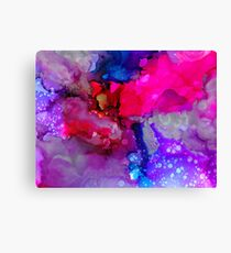 alcohol ink Canvas Print
