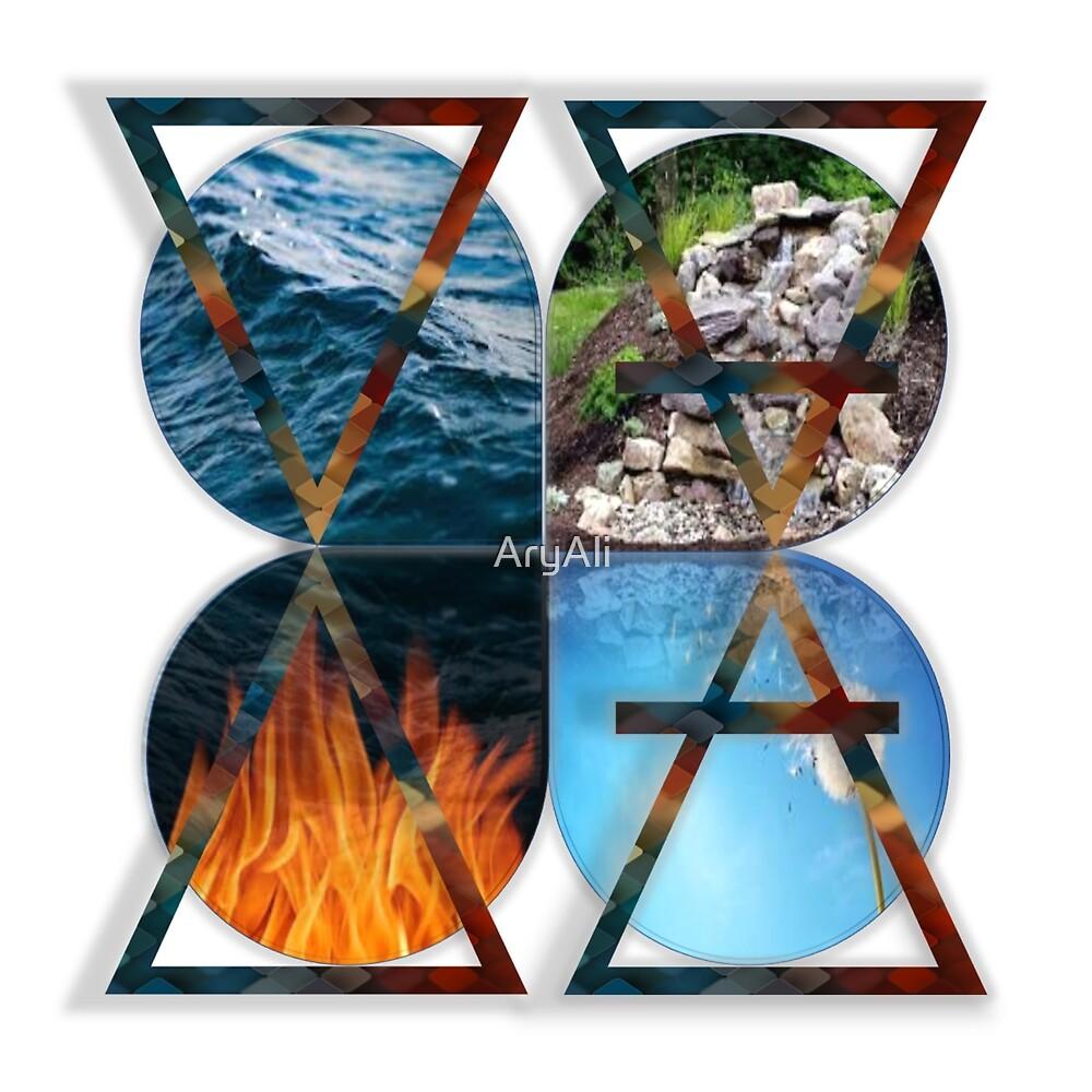 4 elements alquemist by AryAli